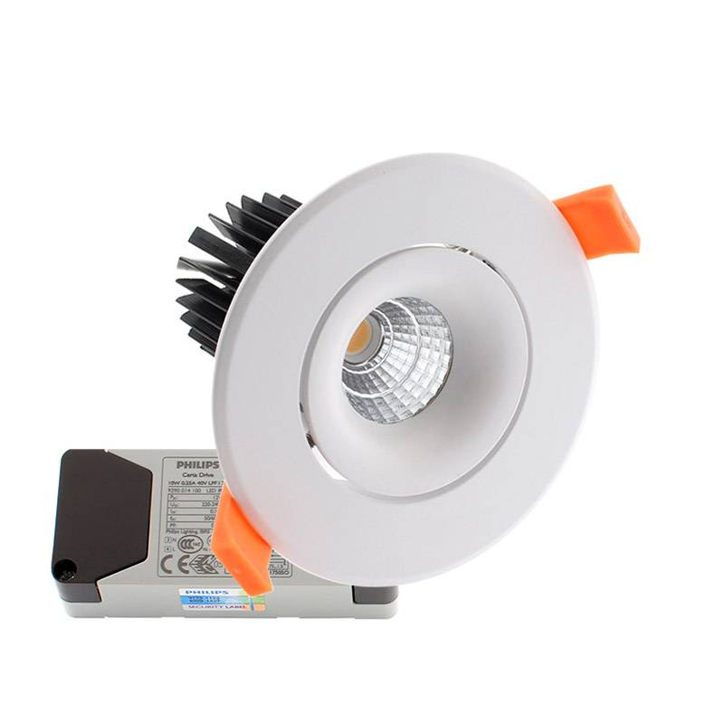 Downlight Led LUXON CREE 12W, Regulable, Blanco frío, Regulable